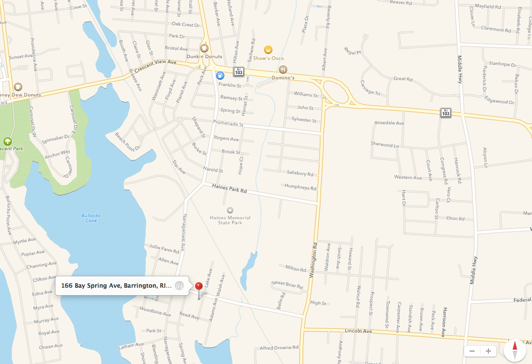 Contact Us Map Neurofeedback Rhode Island